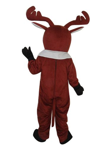 Details  sc 1 st  Joyfay.com & Deer Moose Red Nose Clothing Mascot Costume