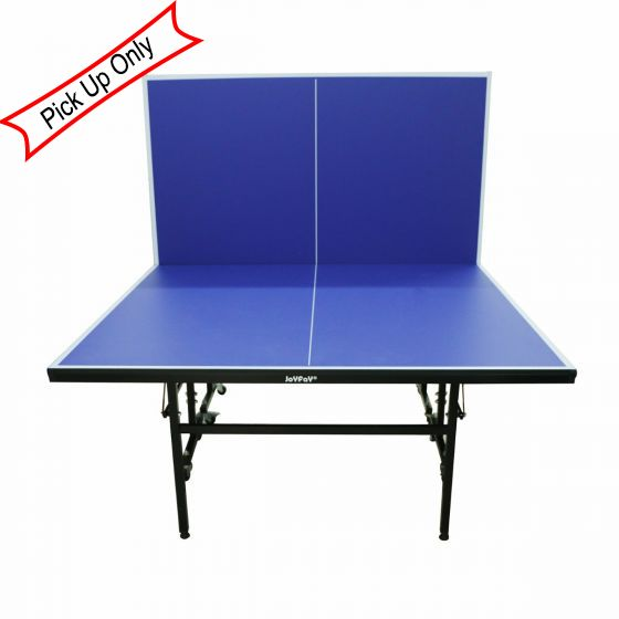 Great  Dimensions: 62L*58W*4.5H Inches  Table Tennis Panel: 15 Mm MDF Board   Space Saving And Easy Warehoused.  The Top Is Protected By A Strong Steel  Frame