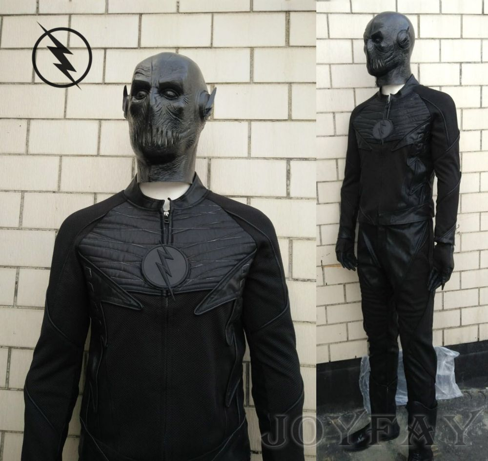the flash zoom cosplay costume customized halloween clothing