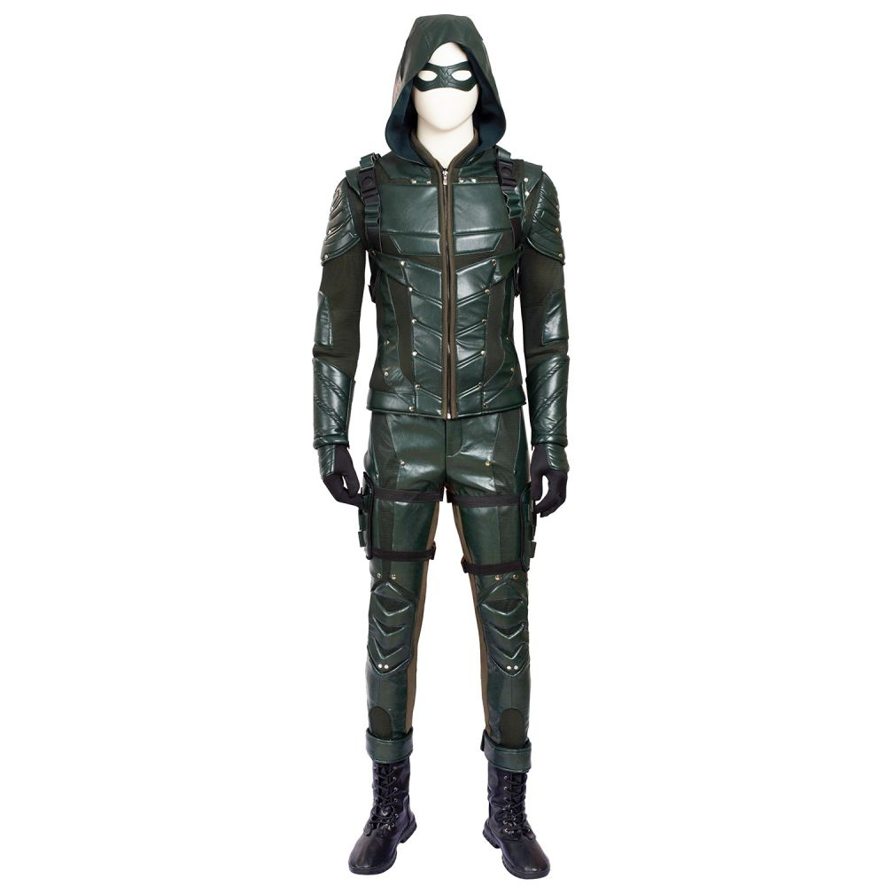 Impress your friends and your family with this amazing costume. Attend Halloween parties and super hero theme parties dressed as the vigilante Green Arrow ...  sc 1 st  Joyfay.com & Green Arrow 5 Costume Oliver Queen Cosplay Costume Customized ...