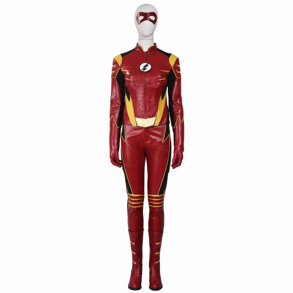 sc 1 st  Joyfay.com & Womenu0027s The Flash Season 3 Jesse Quick Cosplay Costume