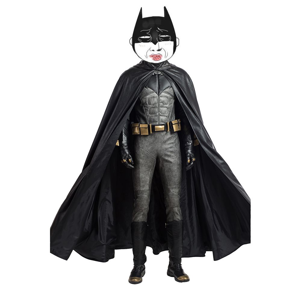 Justice League Batman Cosplay Costume without Helmet