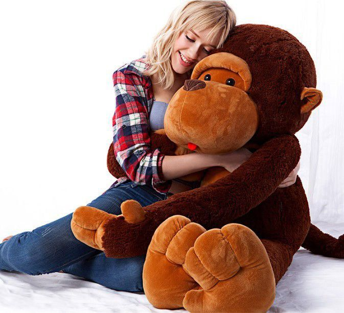 Huge 51 Cute Monkey Gorilla Plush Toy Stuffed Animals For Sale At