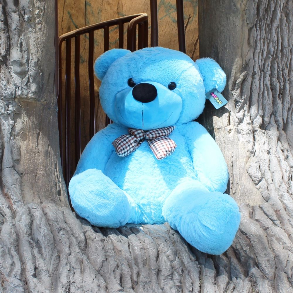 Huge 47 4 ft blue teddy bear stuffed plush toy from joyfay blue teddy bear stuffed plush toy from joyfay altavistaventures Image collections