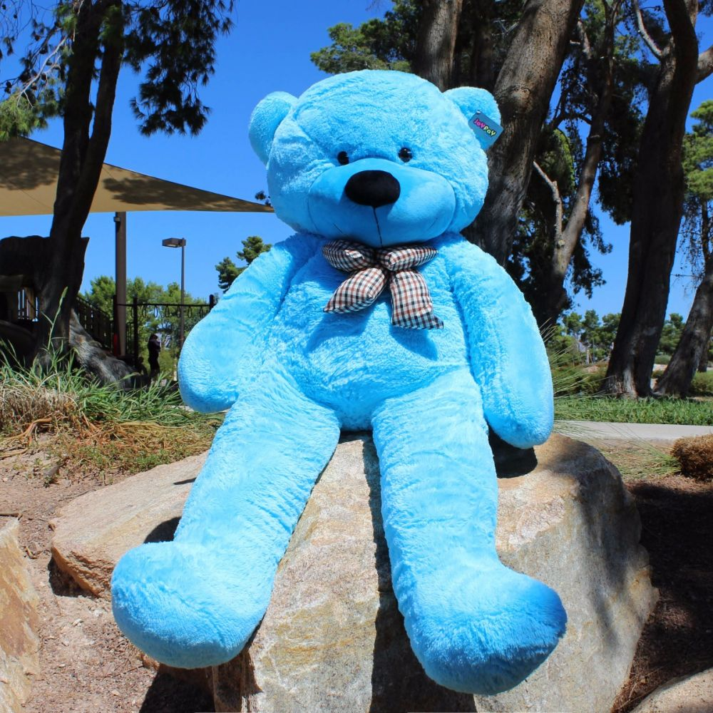 63 blue giant teddy bear 160cm stuffed animals plush toy christmas gift thecheapjerseys Gallery