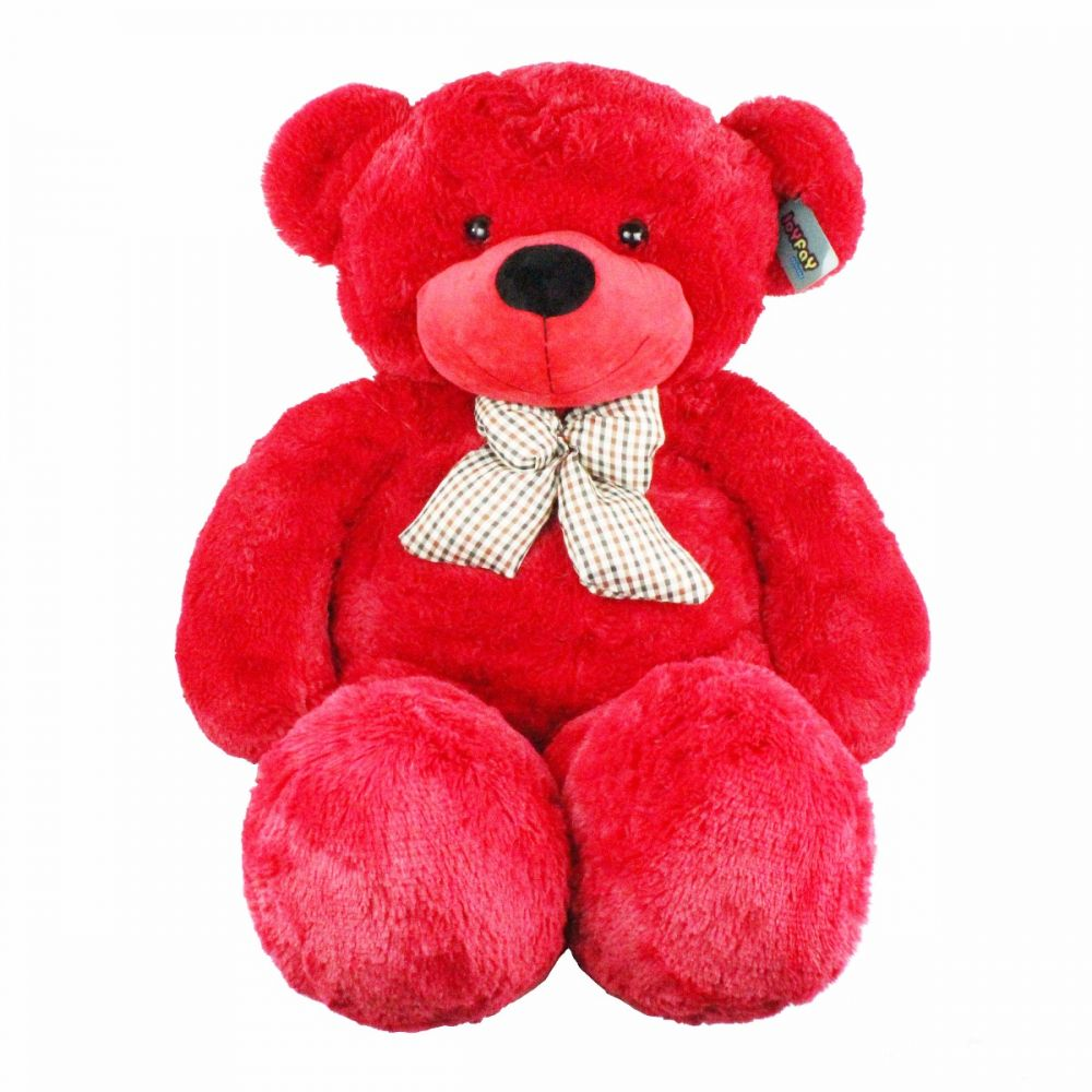 Big Teddy Bear 3 Foot Red Stuffed Animal