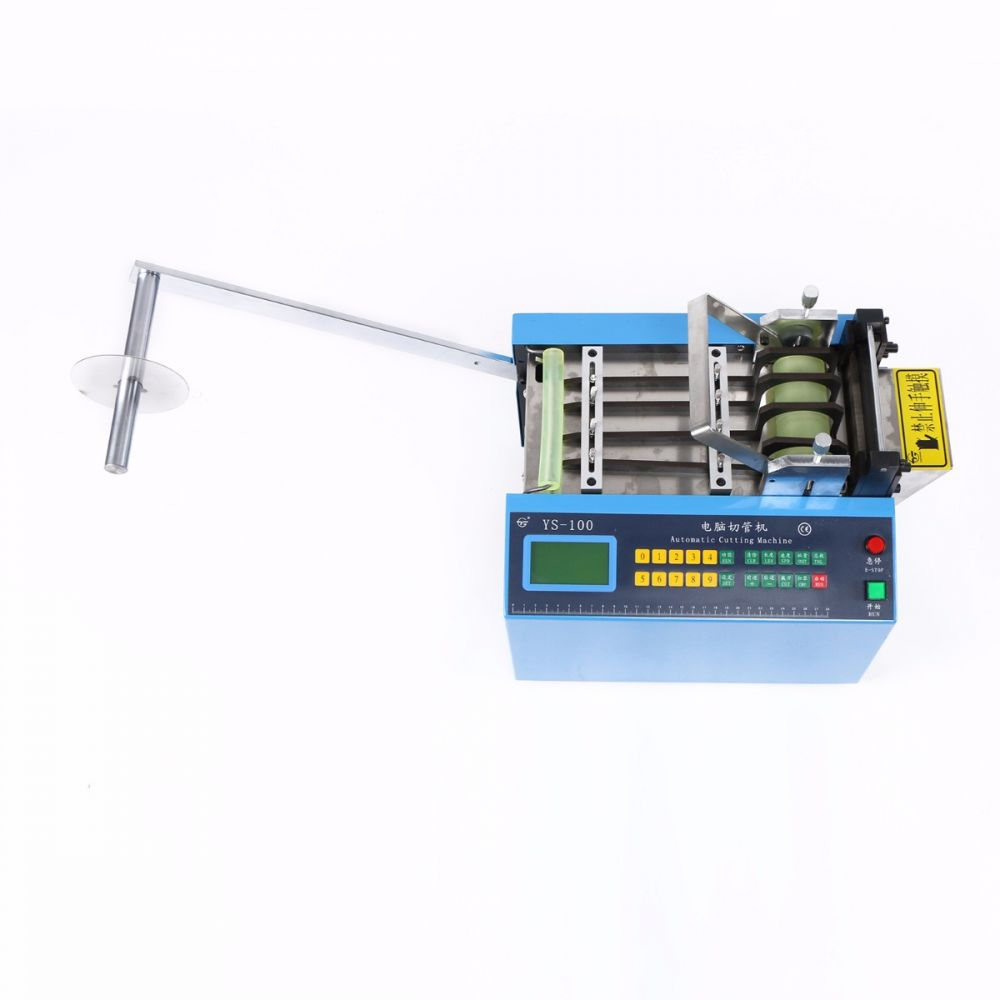 Auto Heat-shrink Tube Cable Pipe Cutter Cutting Machine YS-100