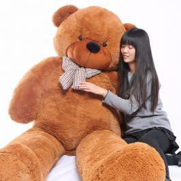 Joyfay Enormous 91 75ft Dark Brown Teddy Bear Toy