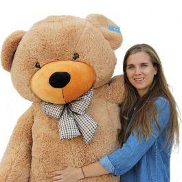 joyfay 78 giant teddy bear light brown for sale at. Black Bedroom Furniture Sets. Home Design Ideas