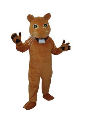 Puma Lion Cougar Mascot Costume