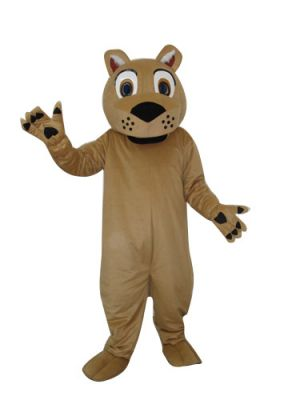 Little Lion no beard Mascot Costume