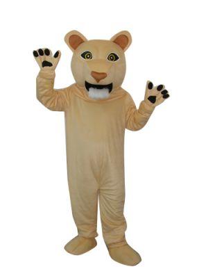 Puma Lion Big Mouth Mascot Costume