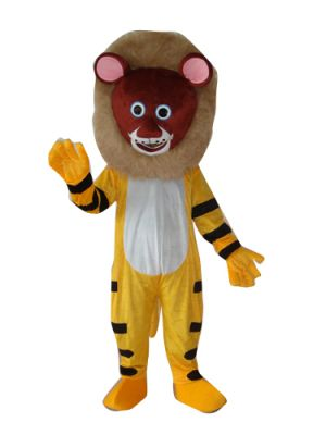 Deluxe Lion Tiger Beast Mascot Costume