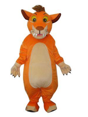 Little Lion Cub Mascot Costume
