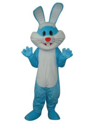 Blue Rabbit Mascot Costume