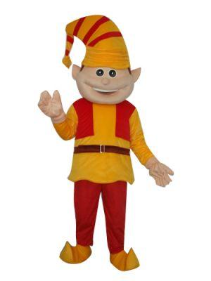 French Clown Mascot Costume
