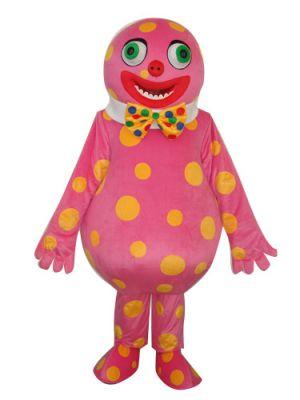 Fat Belly Clown Mascot Costume