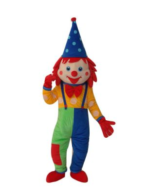Clown Classic Style Mascot Costume