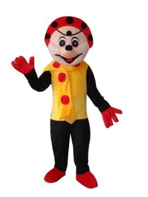 Clown in Mascot Costume