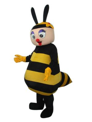Little Yellow Honey Bee Mascot Costume