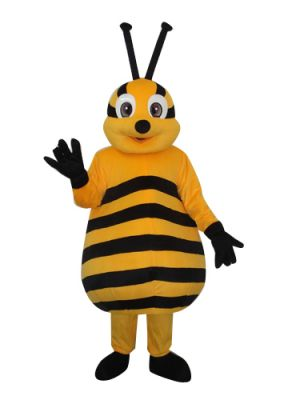 Yellow Honey Bee Mascot Costume