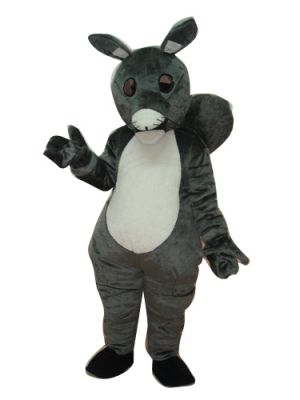 Deluxe Grey Squirrel Fat Tail Mascot Costume