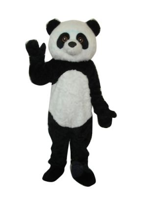 Big Plush Panda Mascot Costume