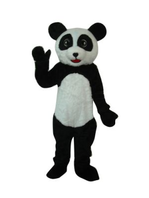 Deluxe Panda Bear Long Plush Mascot Costume