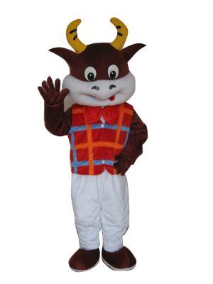 Dr. Cow Bull Mascot Costume