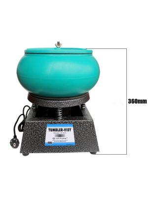 Vibrating Tumbler Jewelry Vibratory Polisher Polishing Machine 12 inch