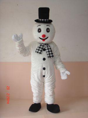 Snowman Snow man Mascot Costume