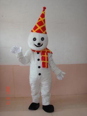 Snow man Snowman Mascot Costume