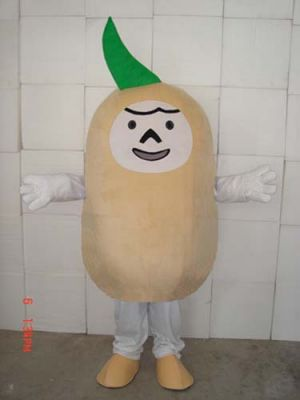 FAT Potato Mascot Costume