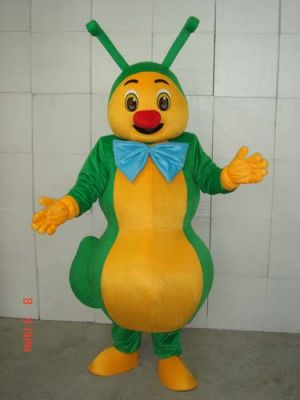 LOVELY green ant insects Mascot Costume