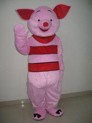 Winnie the Pooh Piglet Pink Pig Mascot Costume