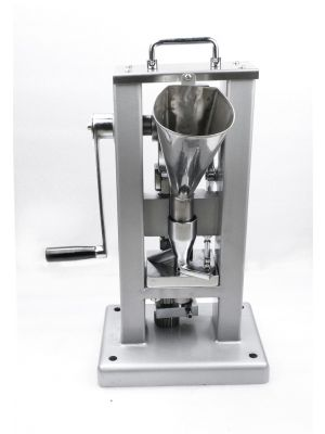 Tablet Press Pill Making Machine Manual Single Punch with Hopper TDP-0 (A)