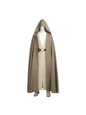 Luke Skywalker Cosplay Costume Star Wars Halloween Clothing with Boots
