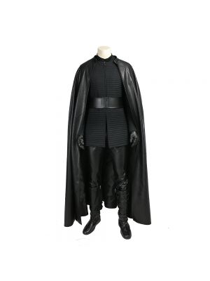 Kylo Ren Cosplay Costume Star Wars 8 Uniform Halloween Clothing Outfit