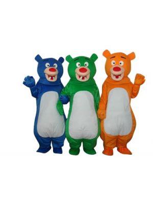 3 Bears Mascot Costume