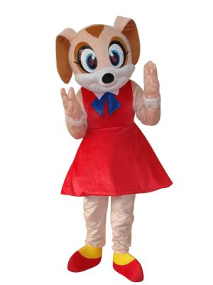 RAT mouse in RED Shoes Mascot Costume