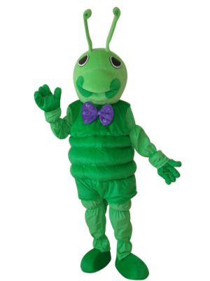 Discount Green Bugs Insect Antenna Mascot Costume Fursuit