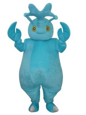 Blue Fat Beetle Mascot Costume