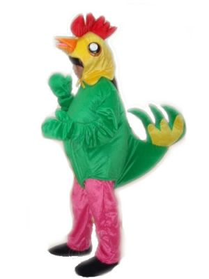 USA Children Adult Size COCK ROOSTER CHICKEN Mascot Costume Fursuit