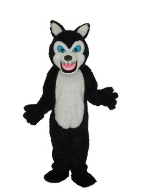 Wolf Sharp Teeth Mascot Costume