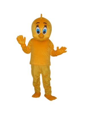 Chicks yellow Chicken Mascot Costume