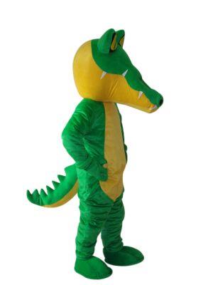 Dragon Dinosaur Green Mascot Costume