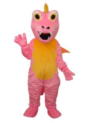 Pterosaur Dinosaur Dragon pink Mascot Costume