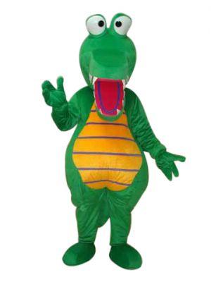 Fat Aligator Mascot Costume