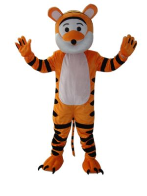 little cute tiger Mascot Costume
