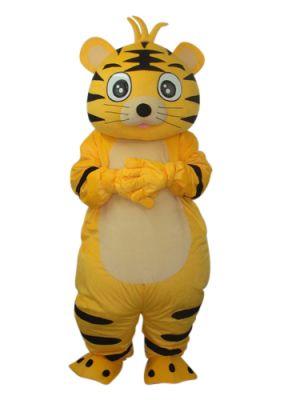 Little Fat Tiger Mascot Costume